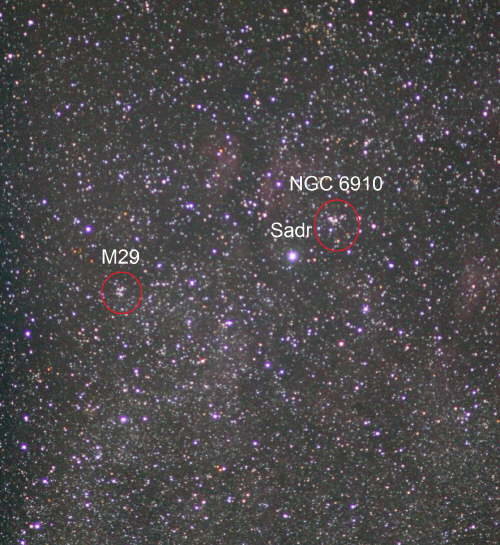 Some Nebulae Sadr (Cygnus) IC1318